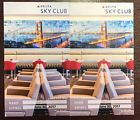 Two Delta Sky Club Passes / Pass 6/30/17 Exp Delta Airlines Sky Club