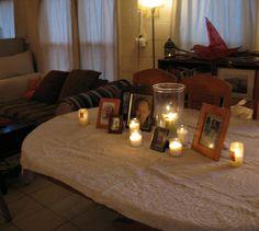 Samhain 2010 - table memorial for the deceased