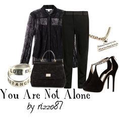 """You Are Not Alone"" by rizzo87 on Polyvore"