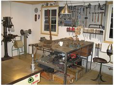 A Workshop- A place to make stuff- late in the night or on a rainy weekend or whenever I get an idea.