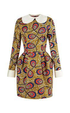 STELLA JEAN Pamela Dress With Contrast Collar