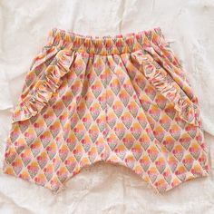 soft gallery ice cream short - girl - final sale | Thumbe Line