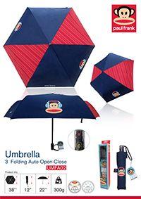 umbrella paulfrank สนใจรายละเอียดเพิ่มเติม Line ID: rdumbrella / portrain Tel.:0863396461, 0863374772 www.rdumbrella.com