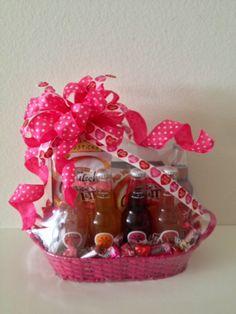 I Soda Think You're Cute Valentine Gift Basket www.OhBowsGiftBaskets.com