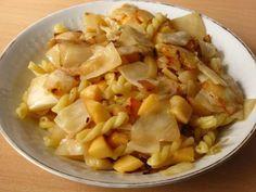 Weißkohl-Quitten-Pasta  (vegan)