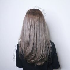 Shades of beige grey ********** CLEO hair international call here 63385250 for book appointment Hair done by @takuyaxtakuya #hair #haircolor #hairstyle #japanese #hairstylist #singapore #singaporean #color #colors #colour #colours #highlight #highlights #babylights #babylightsombre #ombre #balayage #takuyahair #cleohairsg #colourmelt #transformation #makeover #beigehair #greyhair