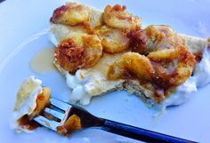 Food Fitness by Paige: Banana's Foster Crepes