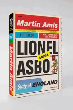 Book cover design // Martin Amis