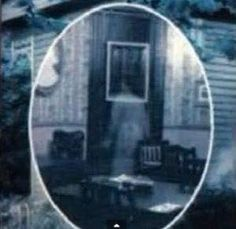 Ghost captured in Victorian clothing. Courtesy of the American Institute of Metaphysics.