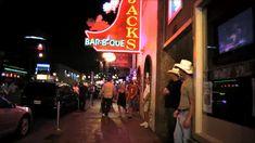 Bar B Que, Honky Tonk, U.s. States, Cruises, Sunsets, Nashville, Travel Destinations, Neon Signs, Lights