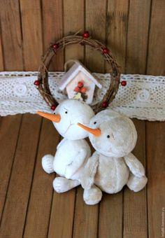 снеговик текстильный / sneeuwpoppen / tutorial + FREE pattern