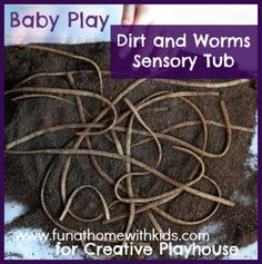 Brilliant Baby Play - Dirt & Worms: Super Easy Sensory Play
