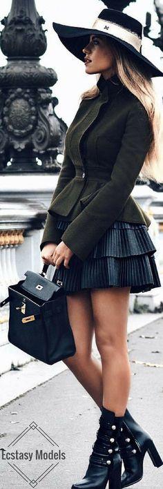 AlexanderMcQueen x Balmain // Fashion Look by Dela Ford