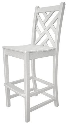 """Chippendale 30"""" Bar Stool by Polywood"""