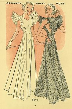 Mccall Style News, August 1936 featuring McCall 8870