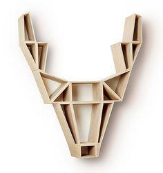 Deer wall piece/storage unit, BEdesign