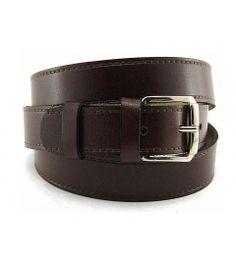 Cinturón básico en piel vacuna Cinturones Hombre 190ab51edc8a