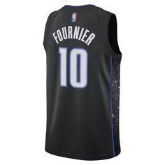 ed46f35fee0 Evan Fournier City Edition Swingman (Orlando Magic) Men s Nike NBA  Connected Jersey - Black