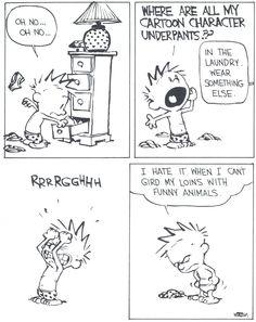 Savvy and Sage: Calvin and Hobbes