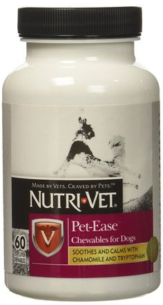Nutri-Vet Pet-Ease Chewable 60ct *** Check out this great product. (This is an affiliate link and I receive a commission for the sales) #PetDogs