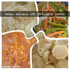 Nandos Chicken Strips &rice recipe by Salmah Dendar