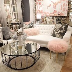 GORGEOUS!!!!!  I would love ALL of this!!  the furniture and the color palette!