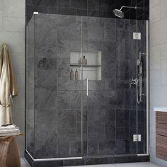 DreamLine Unidoor-X 35.5 in. W x 30.375 in. D x 72 in. H Hinged Shower Enclosure