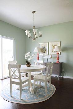House of Turquoise: Kirsten Krason #smalldiningroomfurniture