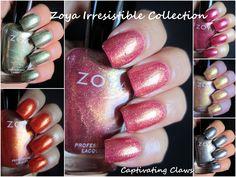 Captivating Claws: Zoya Irresistible Summer 2013