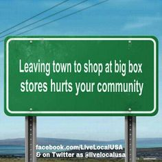 Any day is a great time to choose to use and enjoy local businesses.  #lovelocal #shopsmall #livelocal