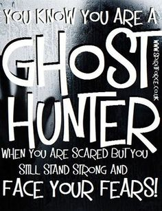 #Ghost #Hunter...  #Paranormal  ::)