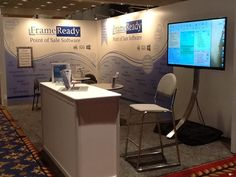 FrameReady booth at WCAF Convention 2015