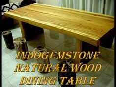 Solid Wood Table Los Angeles Ca - Coub - The Biggest Video Meme Platform by IndoGemstone Solid Wood Table, Furniture Decor, Dining, Home Decor, Food, Decoration Home, Room Decor, Home Interior Design, Home Decoration
