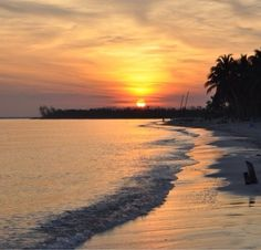 Levisa Cayo, Cuba — by Diane Wong. The sun rise on the beach of Cayo Levisa, a small islet off the north west coast of Cuba.