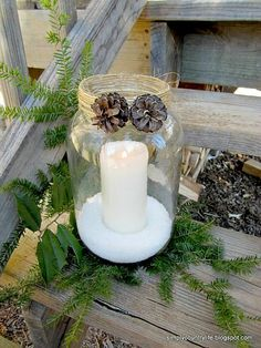 Old Pickle Jars Upcycled Into Pottery Barn Knockoffs