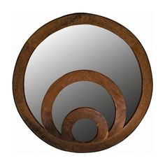 Have to have it. Eclipse Wall Mirror - 48 diam. in. - $987.99 @hayneedle.com.com