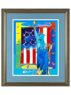 Peter Max: One-of-a-Kind, Hand-Signed Works - Gilt Home
