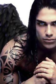 Paul Lahote Native American Models, Gothic Men, Angel Artwork, Goth Guys, Gothic Fantasy Art, Vampire Love, Creatures Of The Night, Fairytale Art, Victoria Secret Angels