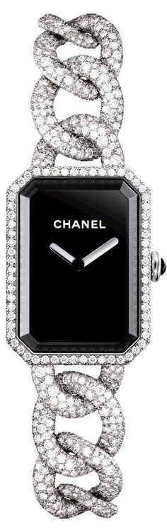 Chanel Premiere Watch. Visit the CHANEL boutique in London Jewelers Americana Manhasset for more luxurious timepieces.