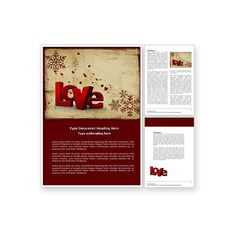 free newsletter template http www msofficeguru org newsletter html