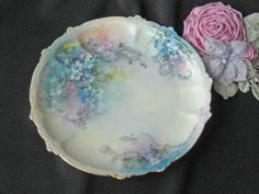 Antique Rosenthal Petit Plate  Hand Painted by KISoriginals, $49.99
