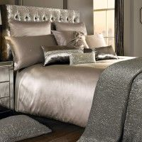 Duvet Cover Miriana Nude Diamante Embellished Duvet Cover by Kylie Minogue