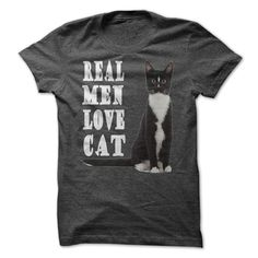 View images & photos of Real men love cat t-shirts & hoodies