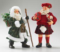 Irish & Scottish Santas