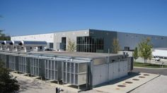 The Aurora I data center in Aurora, Illinois, CyrusOne acquired from CME Group in April 2016. CME is a tenant at the facility, hosting the CME Globex trading platform there. (Photo: CyrusOne)