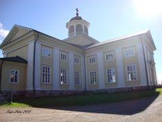 A beautiful church of Liminka, Finland