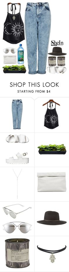 """""""shien halter print top contest"""" by xn3bula-dreamer182x ❤ liked on Polyvore featuring Topshop, Windsor Smith, Marie Turnor, Christian Dior, rag & bone and Le Labo"""