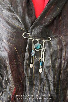 Kilt Pin Brooch by KJWstudio on Etsy, $10.00