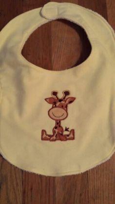 Baby bib by Ruthiebelle Crafts