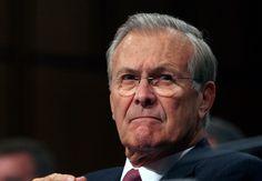 Rumsfeld: 'Unrealistic' for Bush to pursue democracy in Iraq